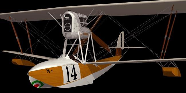 Schneider Trophy race 1921 Mac...